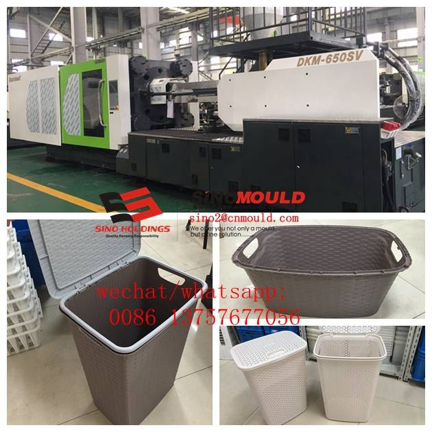 plastic laundry basket molding solution offer