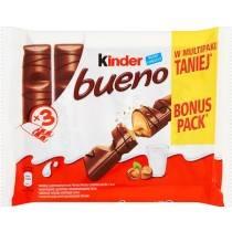 KINDER 3X43G BUENO