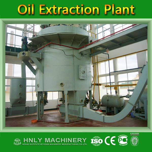 Professional designed rice bran oil mill turnkey project