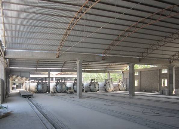 AAC plant (light weight brick making line)