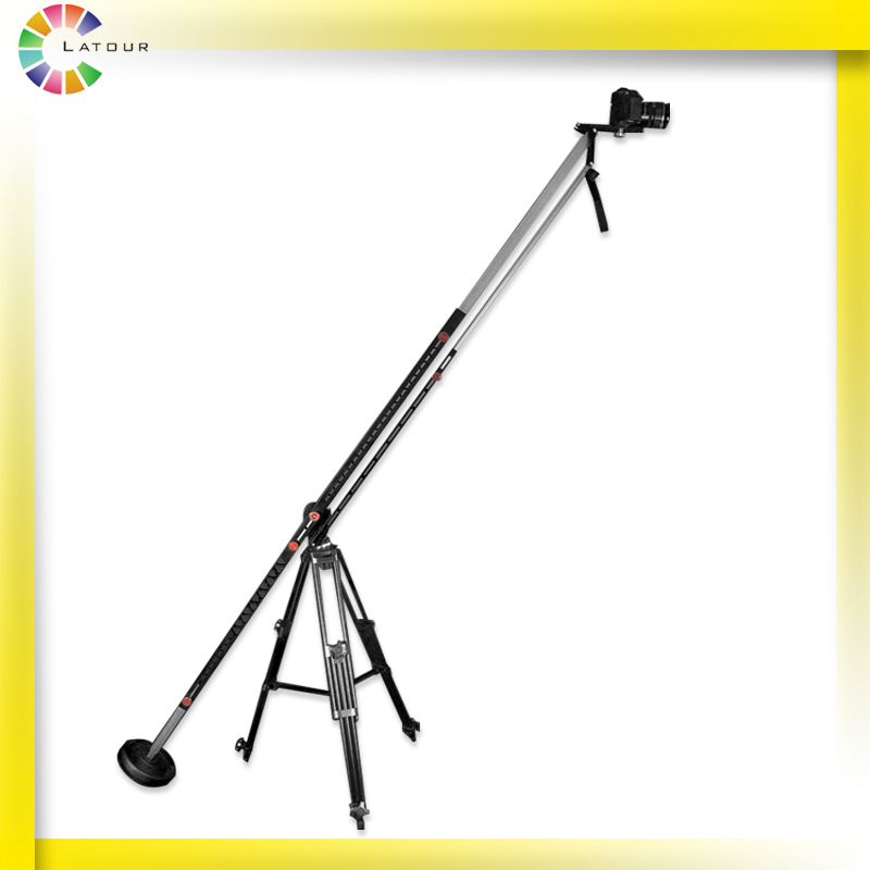 Portable Aluminum Alloy 3M Flexible Extended Adjustable Camera Video Arm for Photography Crane Jib