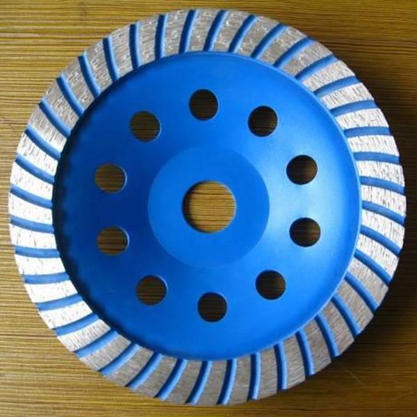 Abrasive Tools Diamond Turbo Single Row Grinding Wheel for Marble Concrete