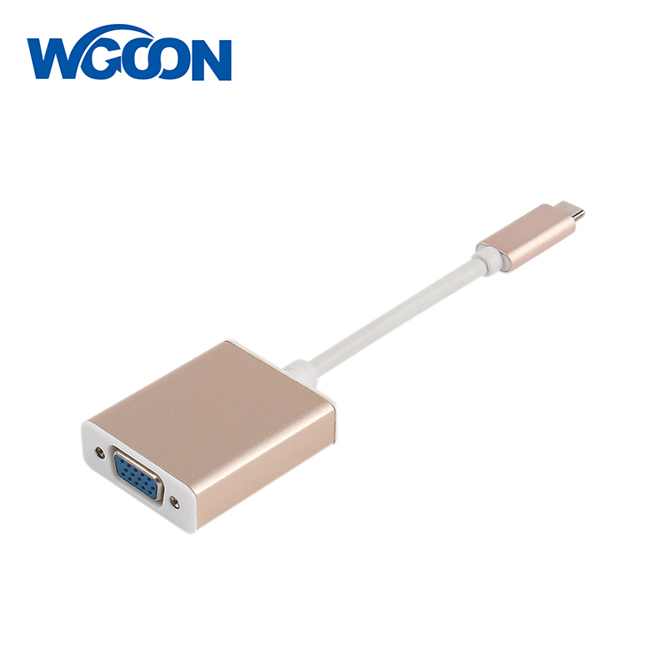 USB Type C to VGA(1080P@60Hz) Adapter