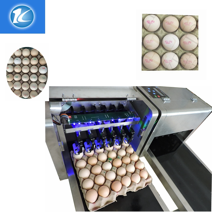 New type egg inkjet printer