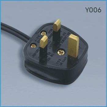 U.K. power cord BS 1363