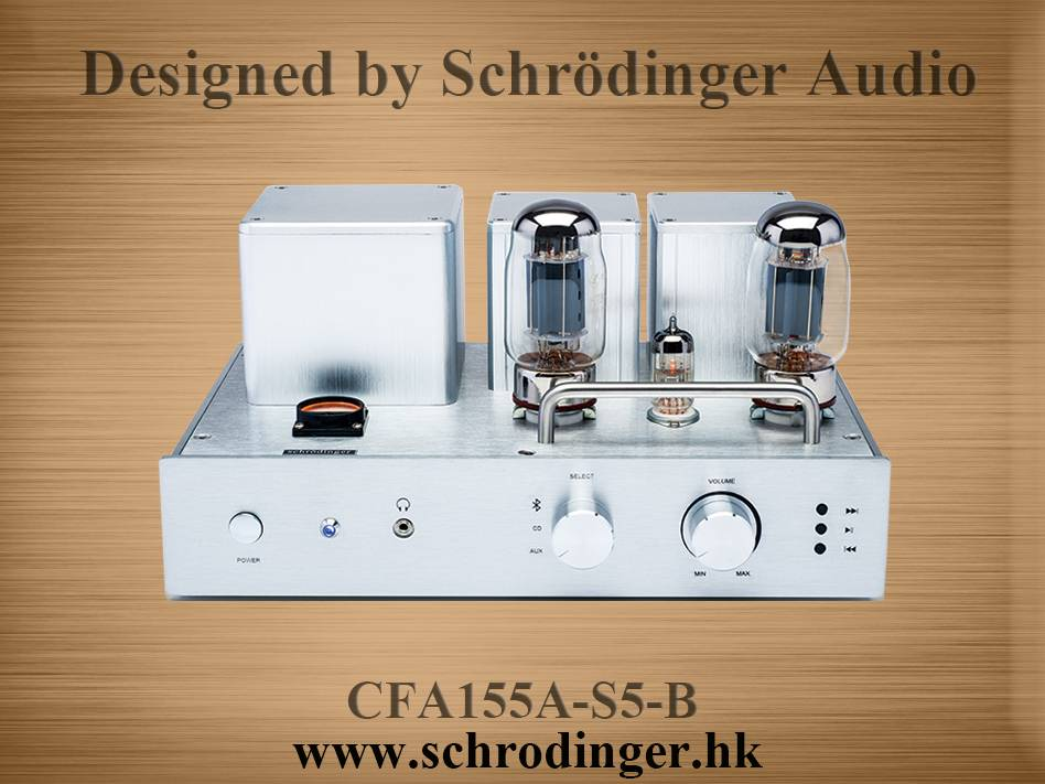 KT88 Vacuum Tube Bluetooth Amplifier, Class A Single-ended