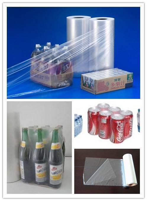 Shrink film packaging pallet