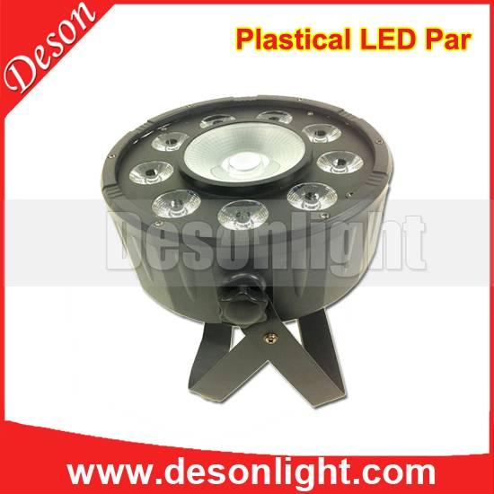 120W full-color LED plastic 9 + 1 wash par LP-209  Voltage: AC110-220V, 50-60HZ Power: 120W Source: