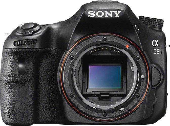 Sony Alpha SLT-A58 DSLR Digital Camera