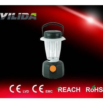 Black Color Emergency Lighting Portable Solar Camping Lamp