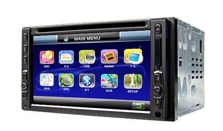 2 din all in one car radio, car dvd, built-in GPS, Bluetooth