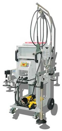 Multifunctional IGBT Inverter Aluminium Dent Pulling Machines FY-65L