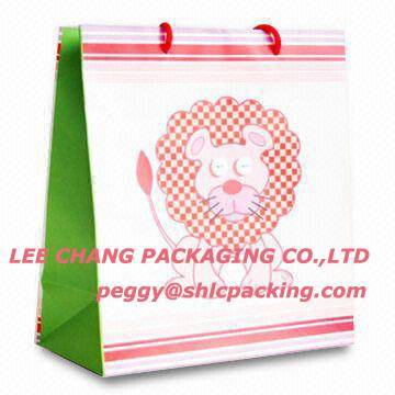 lion paper shopping bag