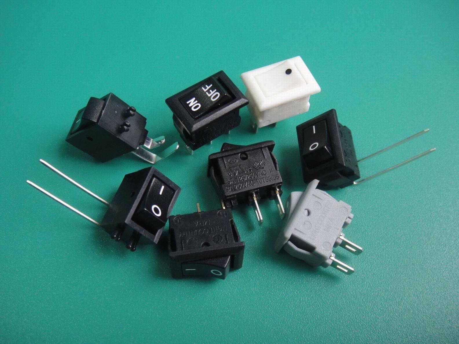 MRA series none-illuminated square rocker switch with UL VDE ENEC