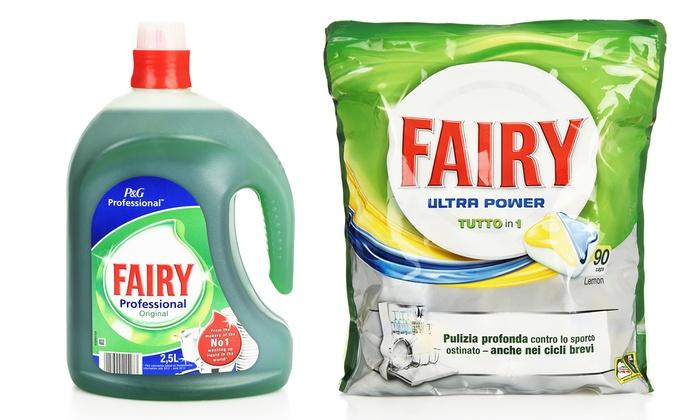 Produits Fairy pour lave