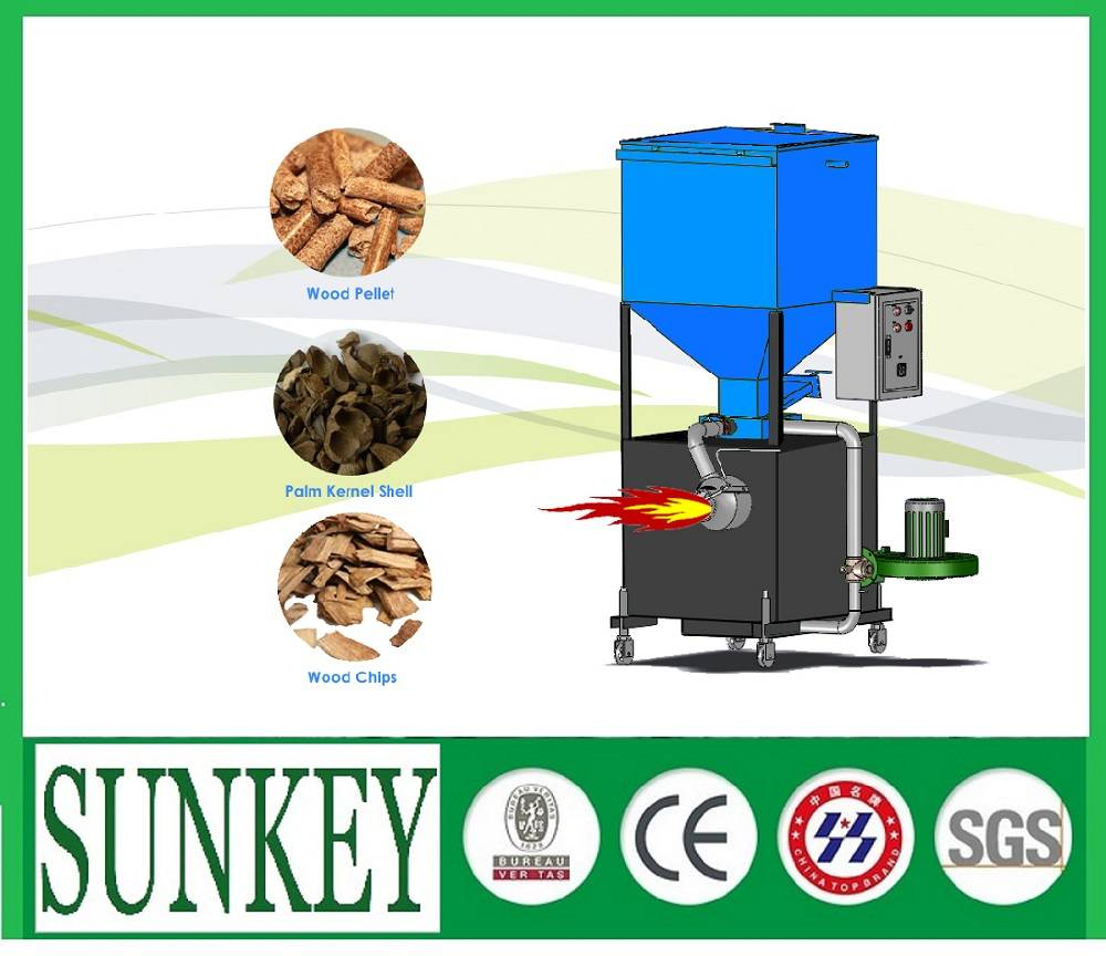 Biomass Gasification Burner