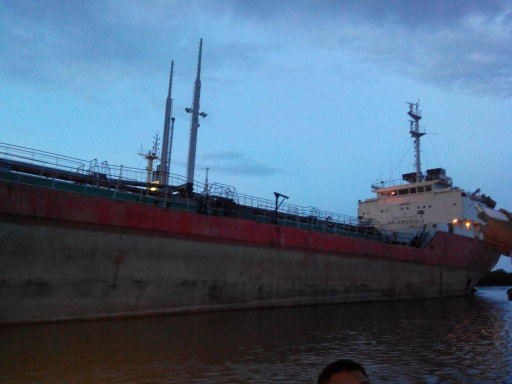 Used Oil Tanker Ship