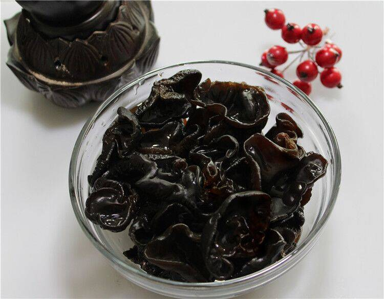 Dried Black Fungus mushrooms