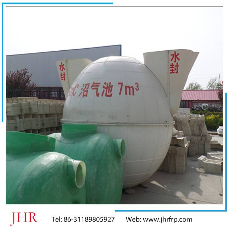 Biogas plant anaerobic reactor biogas digester storage tank system