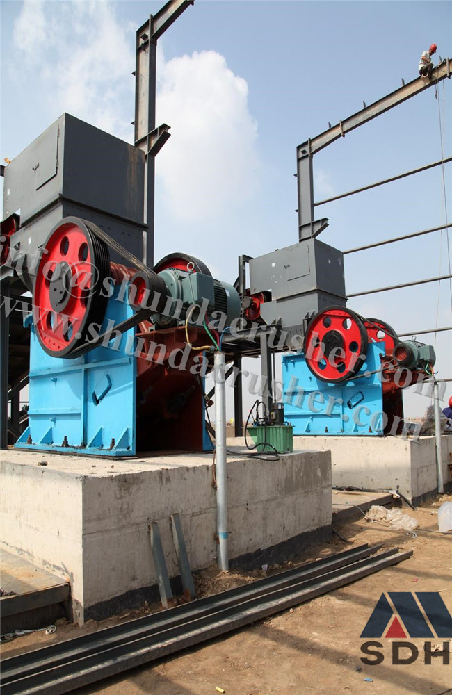 PEF Single-toggle Jaw Crusher