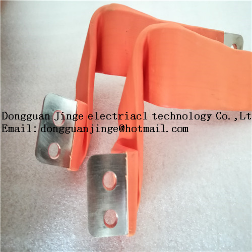 Electrical copper bar insulated soft