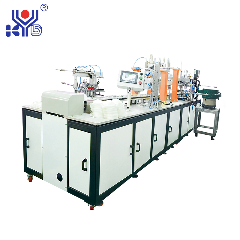 Fully Automatic Cup Mask After Process Making Machine (horizontal welding earloop)