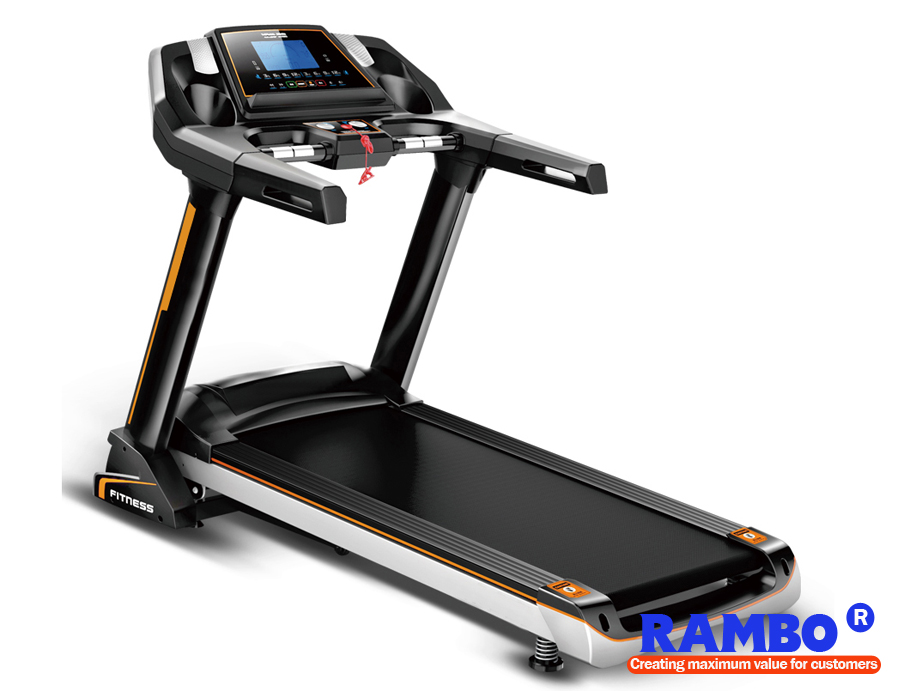 "5.5"" LED Blue Screen Single Function with Ascension Treadmill RB-588S"