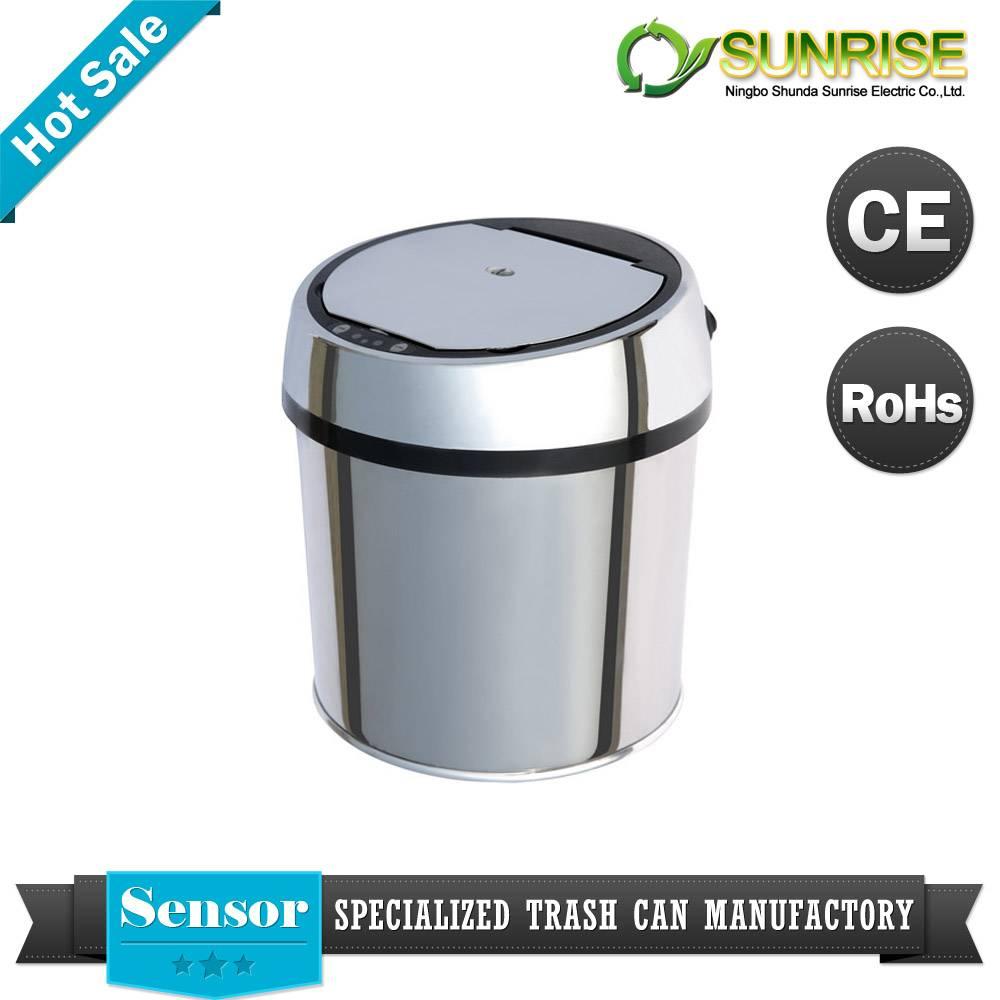 silver sensor dustbin