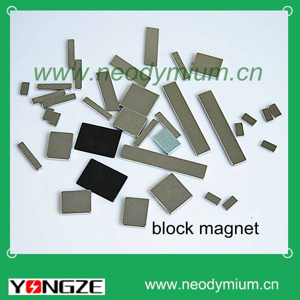 Sintered Neodymium Block Magnets/ Magnetic Segments