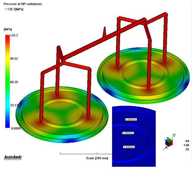 moldflow analysis for plastic molds