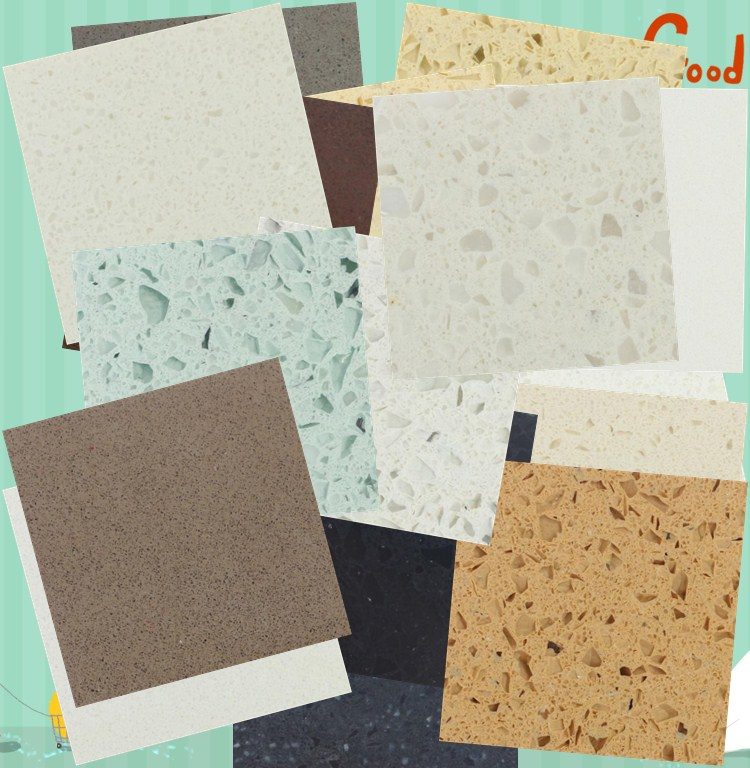 Factory Supply Engineered Quartz Stone Slabs for Countertops