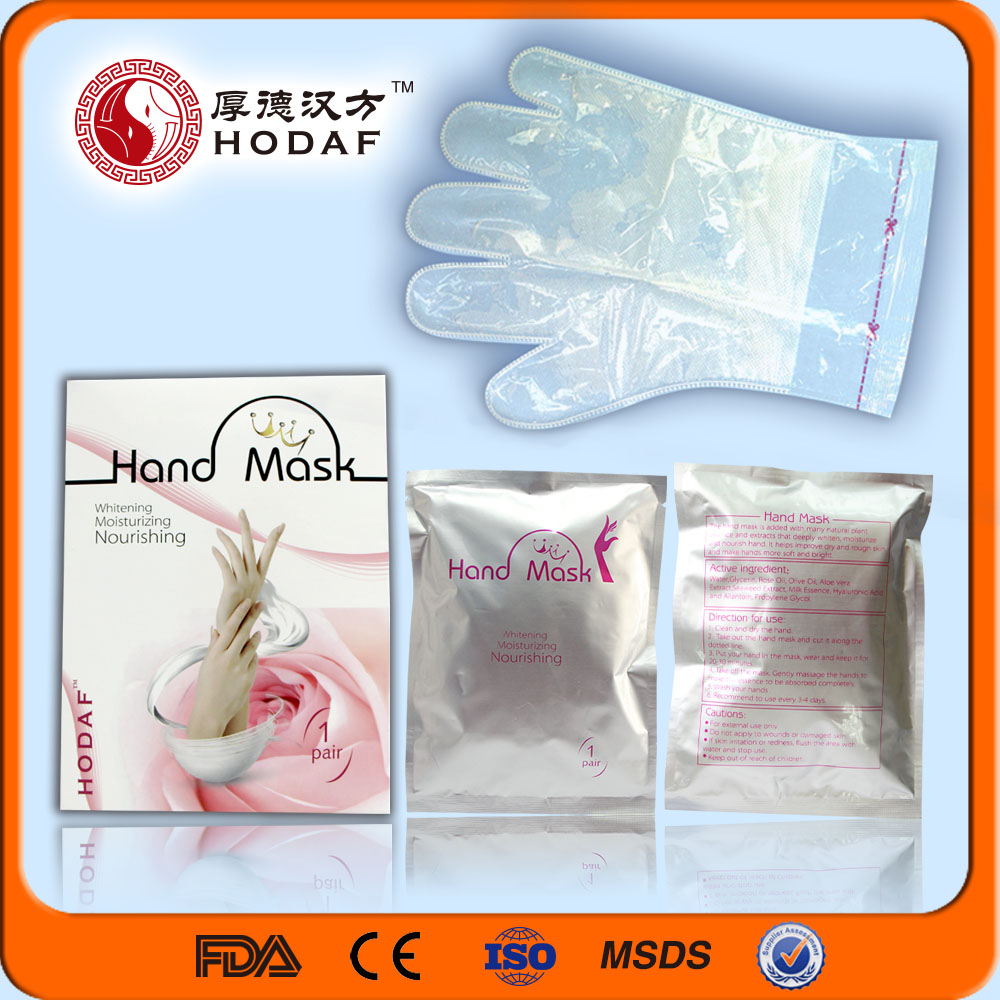 High Hydrophilic Non-woven Whitening Moisturizing Hand Mask