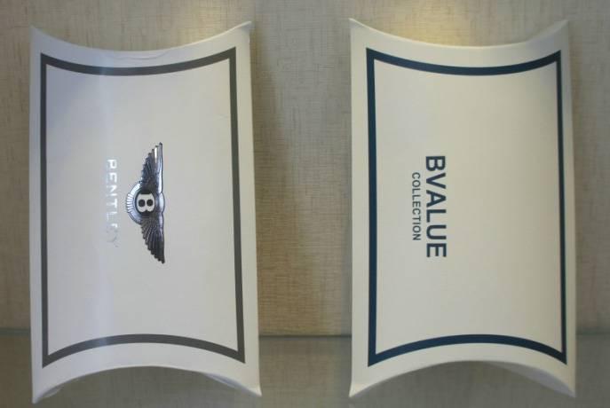 custom paper pillow box