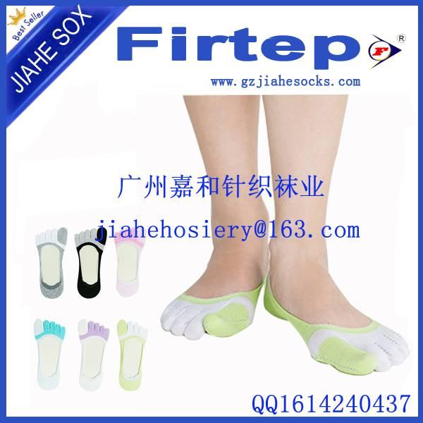 Hot Men's Ankle No Show Cotton Socks Five Finger Toe Sport Socks