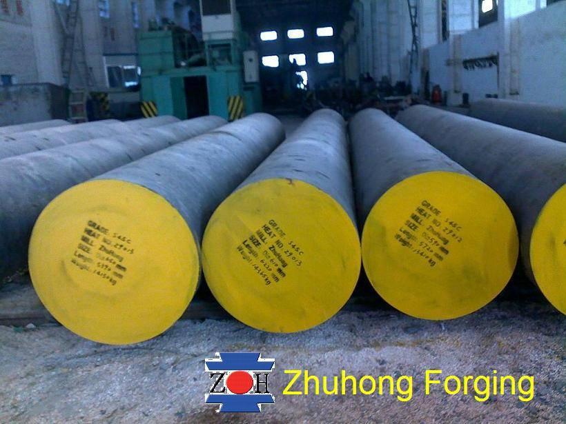 Forged steel round bar S45C
