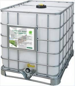 Organic Amino Acid Liquid fertilizer 18%Plant Source H2SO4 Base