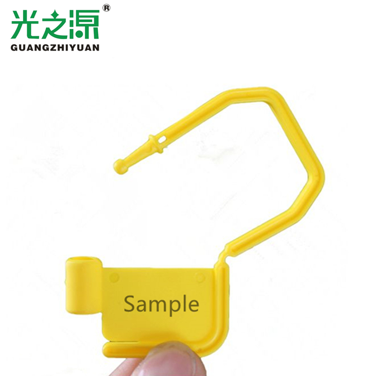 Factory supply security plastic padlock seal for cupboard