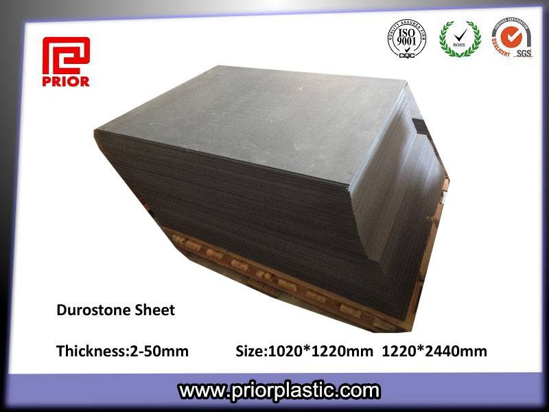 6X1020X1220mm Durostone Sheet with 10^5~10^9 Surface Resistivity
