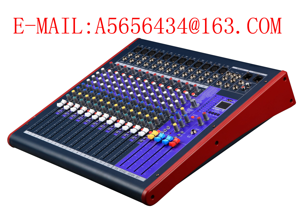 Sell 12-channel Audio Mixer with Built-in Mixer Echo Effector