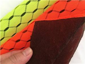 latest technology jacquard knitting mesh fabric