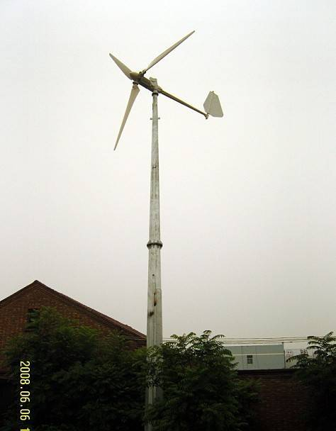 3KW Wind Turbine - Sichuan Province Gehuiyang Electric Co