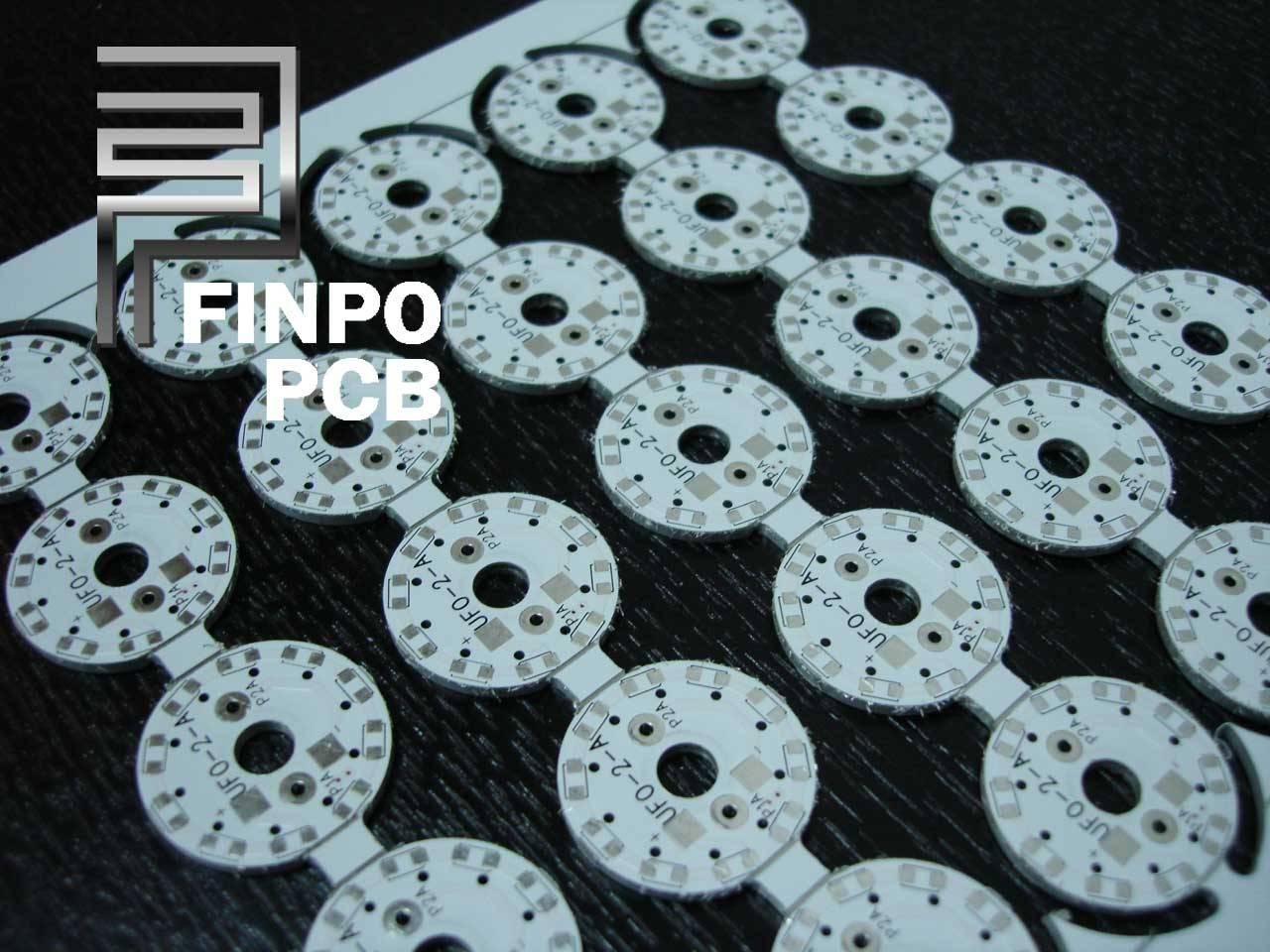2 Layer Aluminum PCB, 2 Layer Aluminum Board, 2L MCPCB