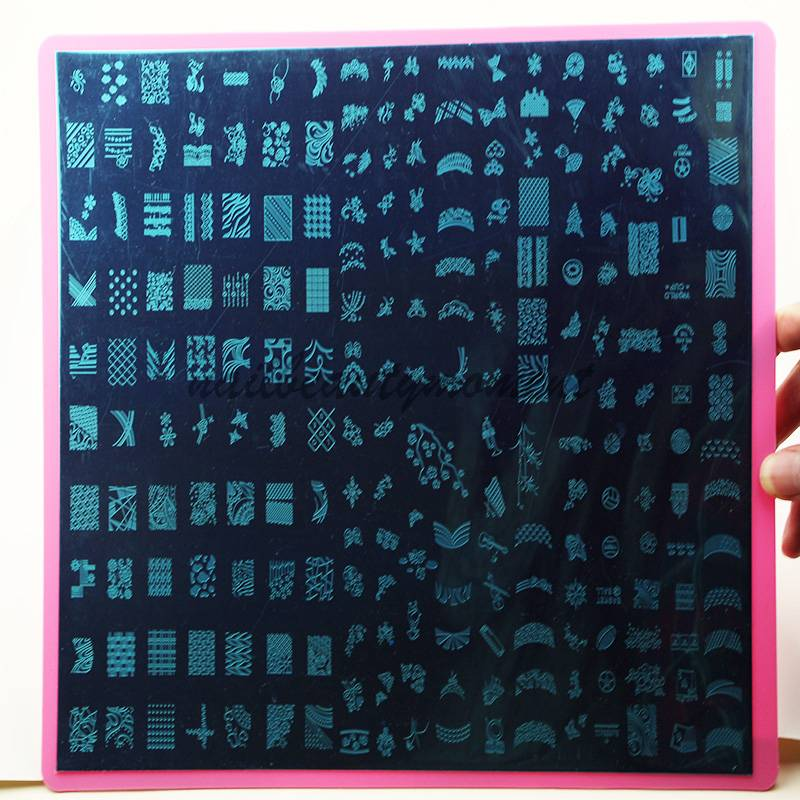 Wholesale Nail Art XXL Stamping Template Image Plate (SNA05)