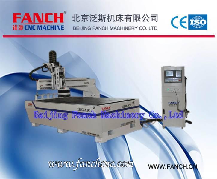 Wood CNC 3D Engraving Machine[FC-2513X-ATC]
