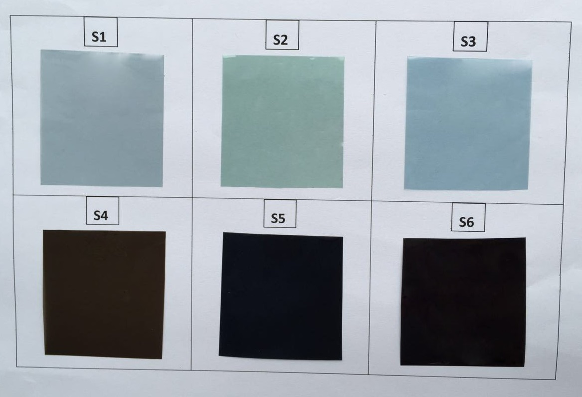 Electronic protection IR shielding pigment