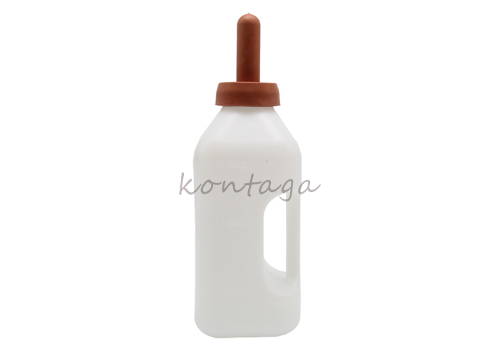 10206 calf feeding milk bottle with nipples