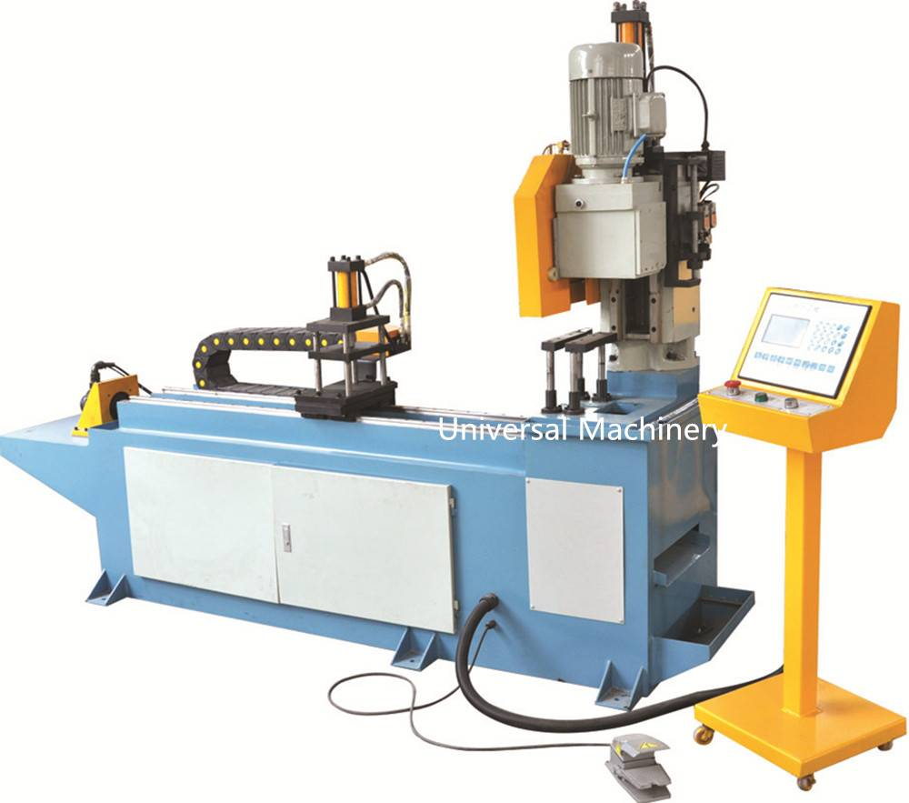 China manufacturer servo controlling automatic CNC Pipe Cutting Machine