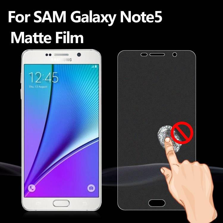 Premium Guard Anti Fingerprint Anti Glare matte screen protector film for mobile phone for Samsung G