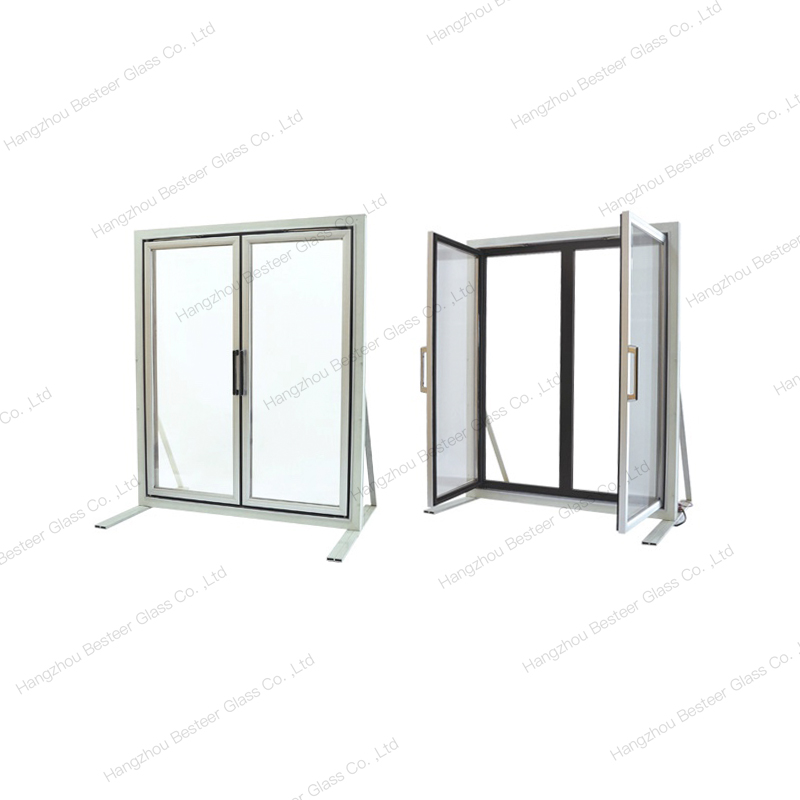 Reach-In Glass Half Swing Door for Refrigerator/Freezer