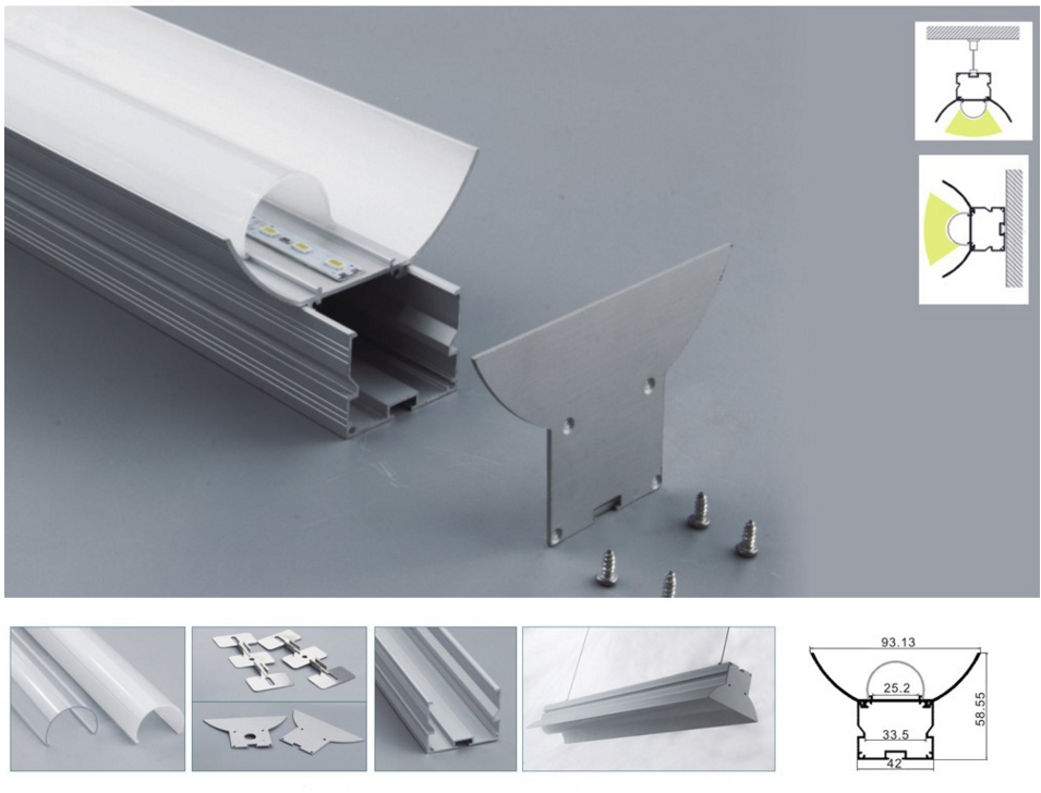 LEOPARD LIGHTING Aluminium LED Profiles for LED Strips Lighting